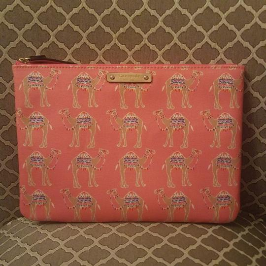 Preload https://img-static.tradesy.com/item/24136268/kate-spade-spice-things-up-pink-camel-clutch-0-0-540-540.jpg