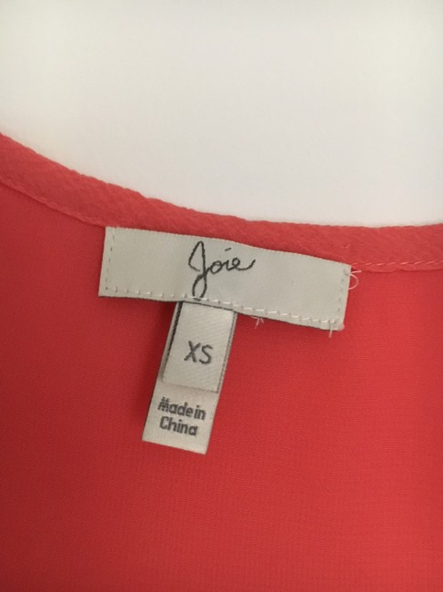 Joie Racer Back Top Coral pink