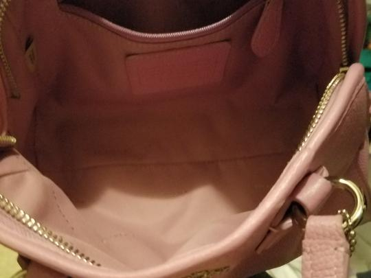 Coach Pale Satchel in Pink