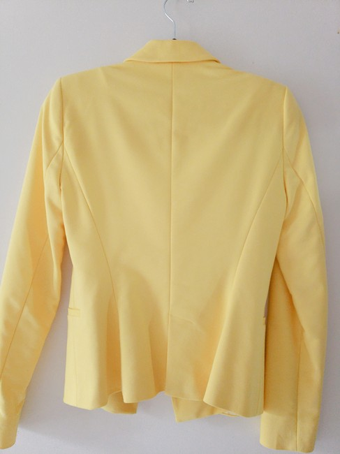 Zara Lemon/Yellow Blazer