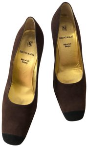 Bruno Magli Black Brown Pumps