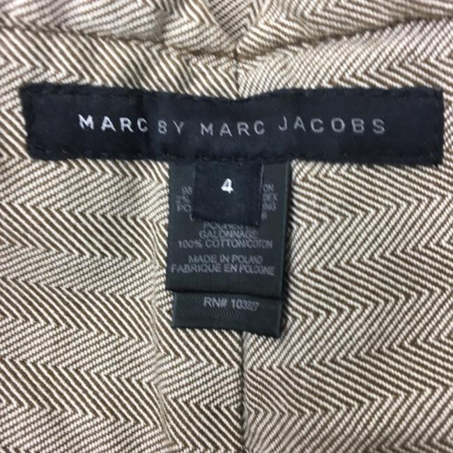 Marc by Marc Jacobs Flare Pants Brown Cream