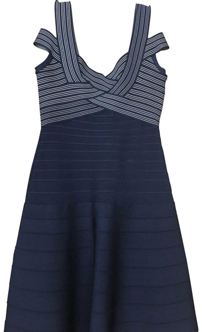 Preload https://img-static.tradesy.com/item/24136499/herve-leger-dark-blue-mid-length-formal-dress-size-4-s-0-1-650-650.jpg