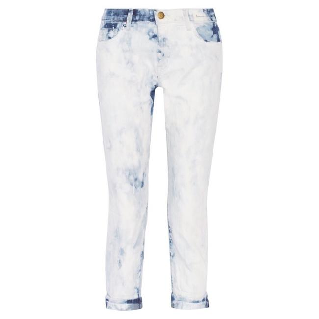 Current/Elliott Straight Leg Jeans-Acid
