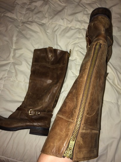 Frye Brown Leather Boots