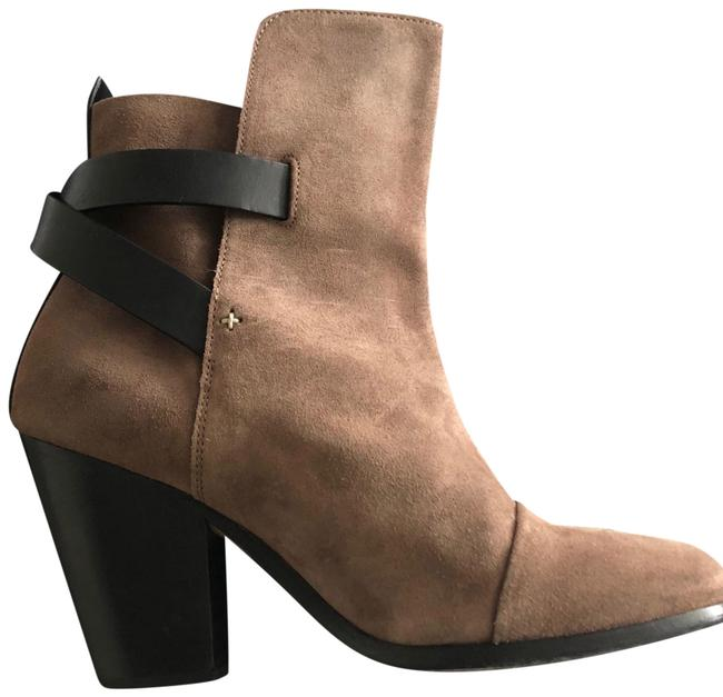 Item - Taupe Suede Leather Boots/Booties Size EU 38.5 (Approx. US 8.5) Regular (M, B)