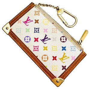 Louis Vuitton Monogram Pochette Cles coin and key pouch