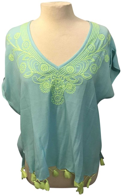 Lilly Pulitzer Embroidered Preppy Beach Tunic
