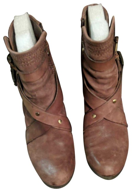 Vince Camuto Burley Brown Hailey Boots/Booties Size US 8 Regular (M, B) Image 1