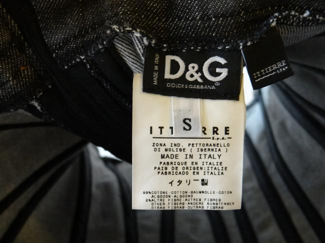 Dolce&Gabbana D&g Top Black Denim