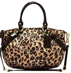 Coach 11764 Madison Sophia Satchel in Ocelot