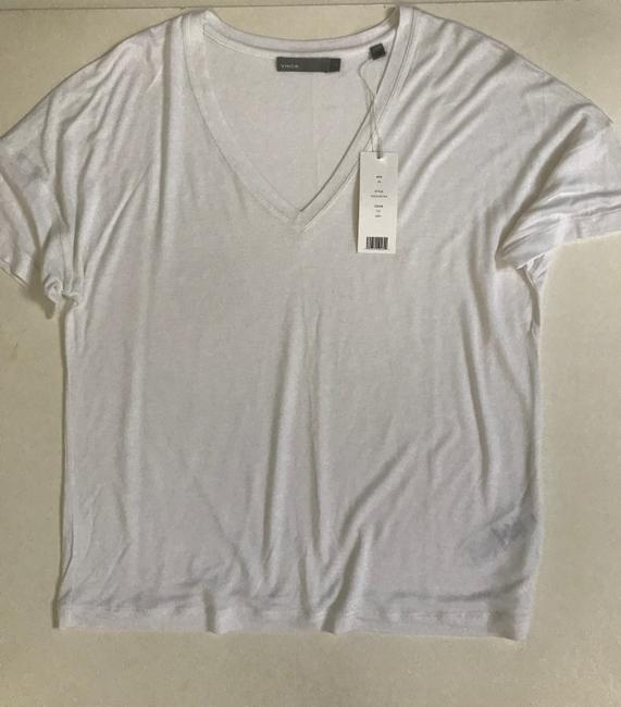 Vince T Shirt white
