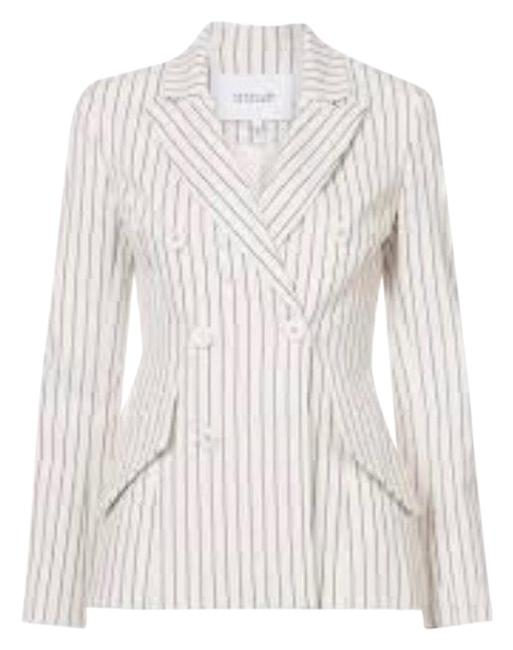 Preload https://img-static.tradesy.com/item/24136728/derek-lam-beige-with-pinstripes-blazer-size-10-m-0-2-650-650.jpg
