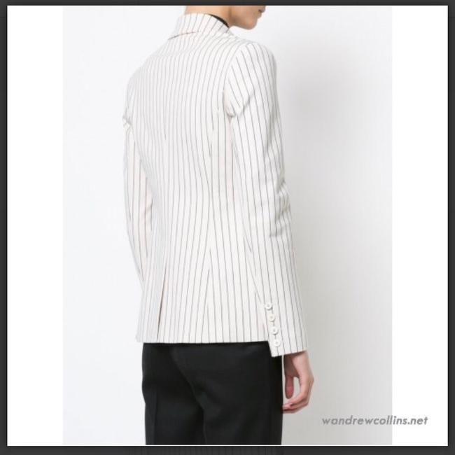Derek Lam beige with pinstripes Blazer