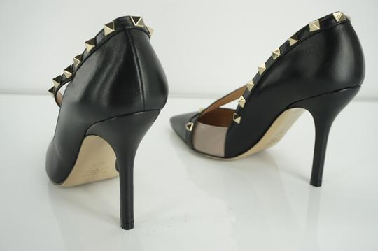 Valentino Poudre Strappy Formal Party Black Pumps Image 1