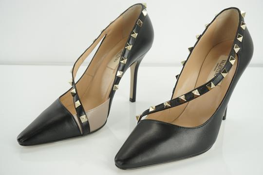 Valentino Poudre Strappy Formal Party Black Pumps Image 7