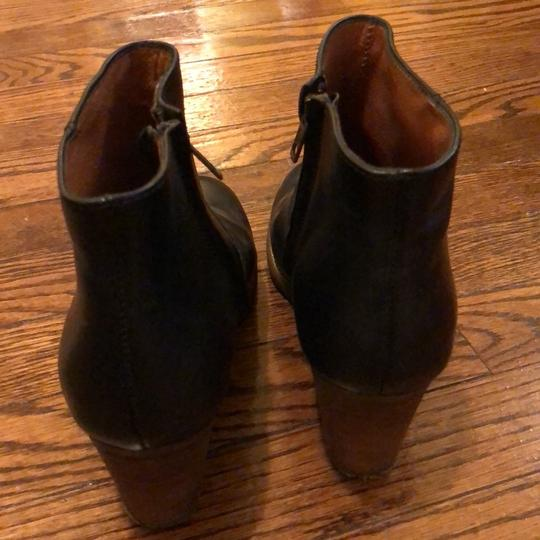 Madewell Leather Black Boots
