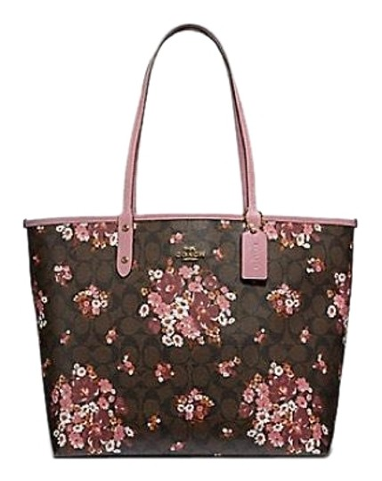 Preload https://img-static.tradesy.com/item/24136814/coach-city-signature-with-medley-bouquet-print-brown-multi-coated-canvas-tote-0-1-540-540.jpg