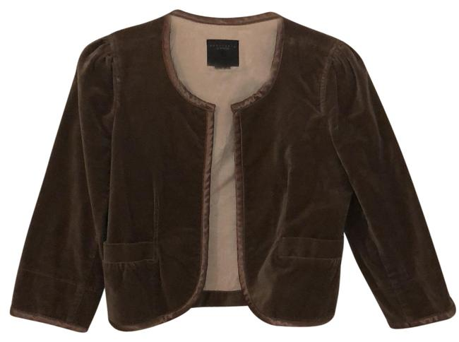 Preload https://img-static.tradesy.com/item/24136876/anthropologie-brown-cocktail-jacket-blazer-size-4-s-0-1-650-650.jpg