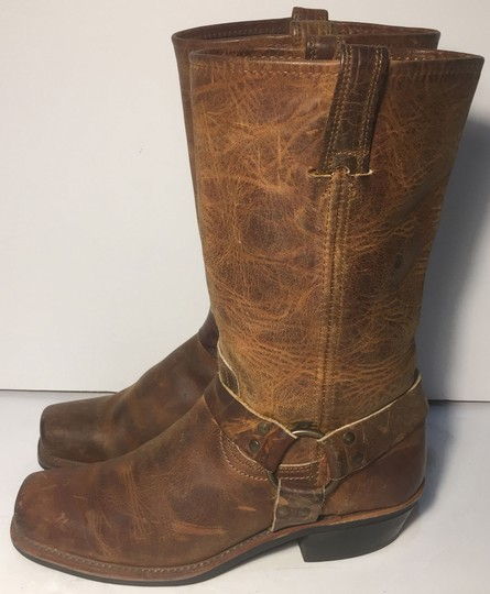 Frye 77300 Size 10 Us Motorcycle Women Size 10 Brown Boots