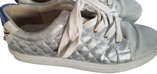 Preload https://img-static.tradesy.com/item/24136923/kurt-geiger-london-white-and-silver-ludo-sneakers-size-eu-40-approx-us-10-regular-m-b-0-1-540-540.jpg