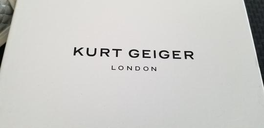 Kurt Geiger London Gold Hardware white and silver Athletic