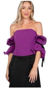 Lulumari Top Purple and Black
