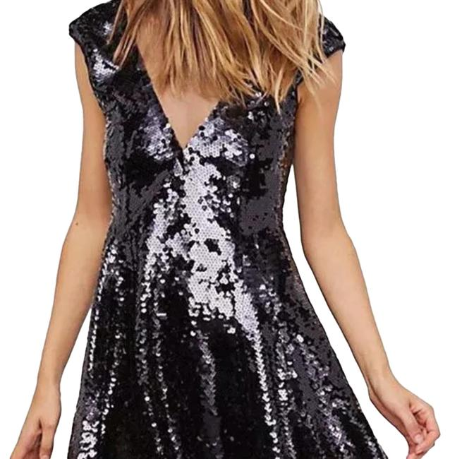 Preload https://img-static.tradesy.com/item/24137165/free-people-black-dance-til-dawn-sequin-short-casual-dress-size-6-s-0-3-650-650.jpg