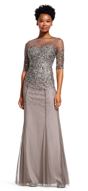 Preload https://img-static.tradesy.com/item/24137611/adrianna-papell-lead-new-beaded-sequined-mesh-illusion-gown-long-formal-dress-size-2-xs-0-0-650-650.jpg