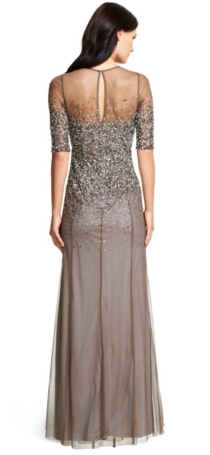 Adrianna Papell Sequin Beaded Dress Image 6