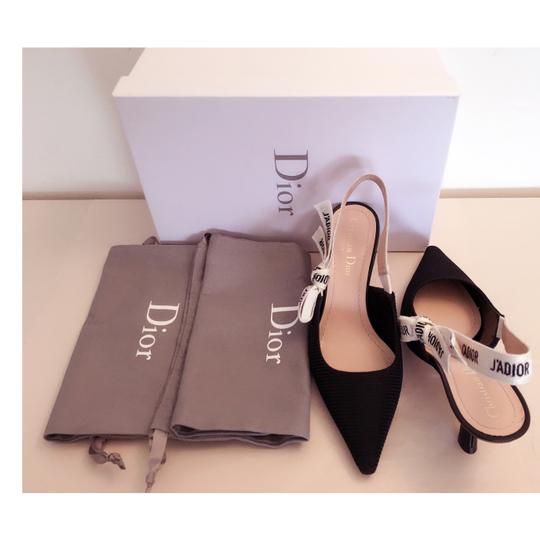 Dior Black and White Pumps Image 2