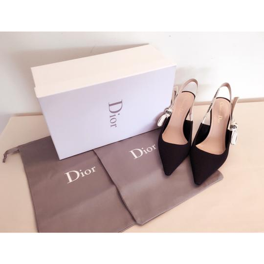 Dior Black and White Pumps Image 3