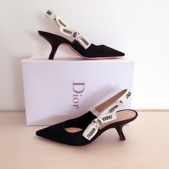 Dior Black and White Pumps Image 4