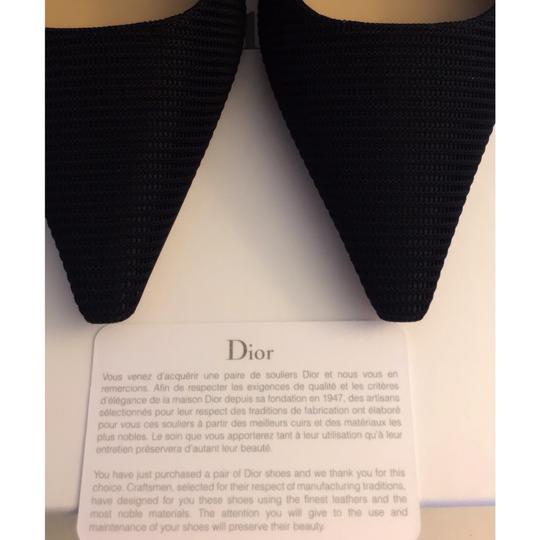 Dior Black and White Pumps Image 7