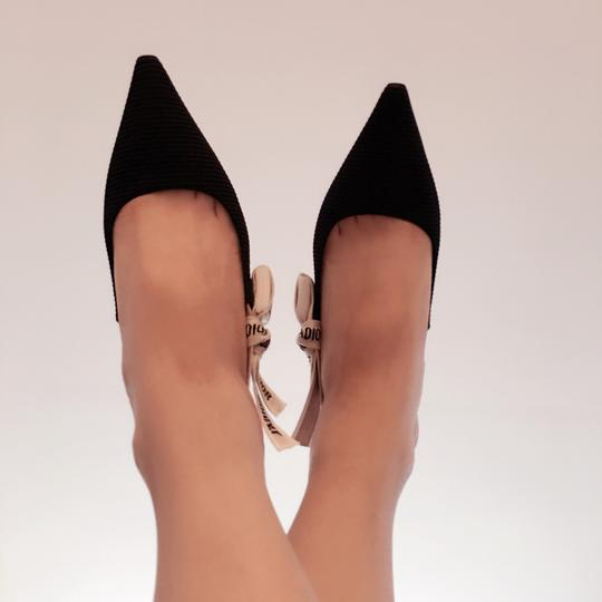 Dior Black and White Pumps Image 9