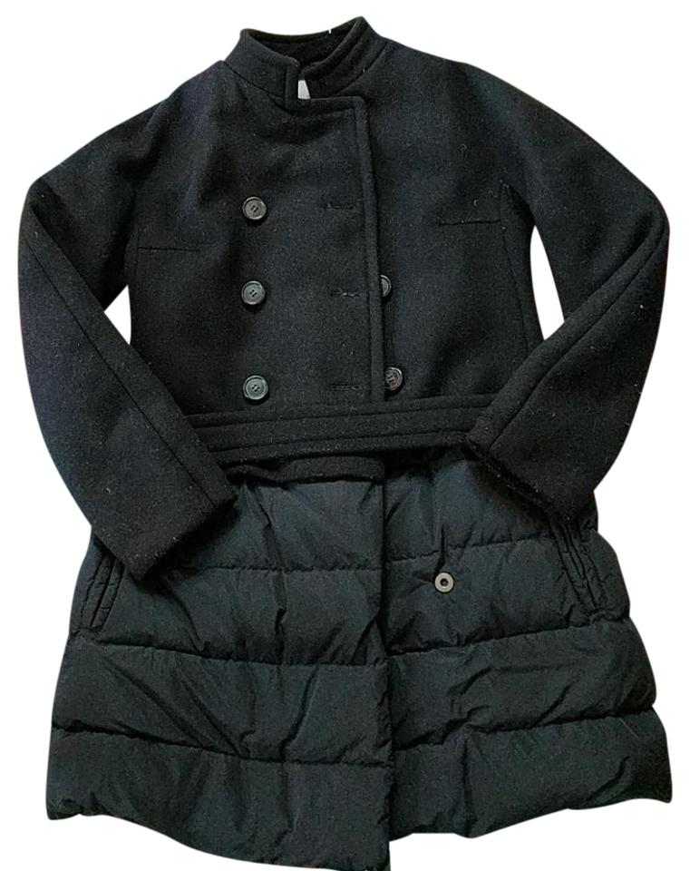 3048c1c39 Moncler Black Premiere Collection Coat Size 4 (S) - Tradesy
