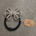 Unwritten Silver H104 Ponytail Tie Hair Accessory Image 0