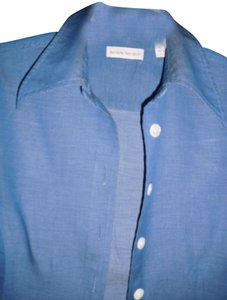 Banana Republic Button Down Shirt denim blue