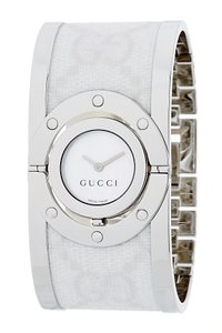 Gucci Stainless steel 33mm Gucci GG web Twirl watch
