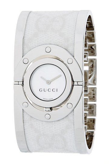 Gucci Stainless steel 33mm Gucci GG web Twirl watch Image 2