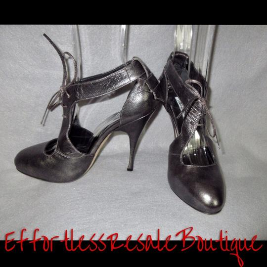 Brian Atwood Gray Pumps Image 2