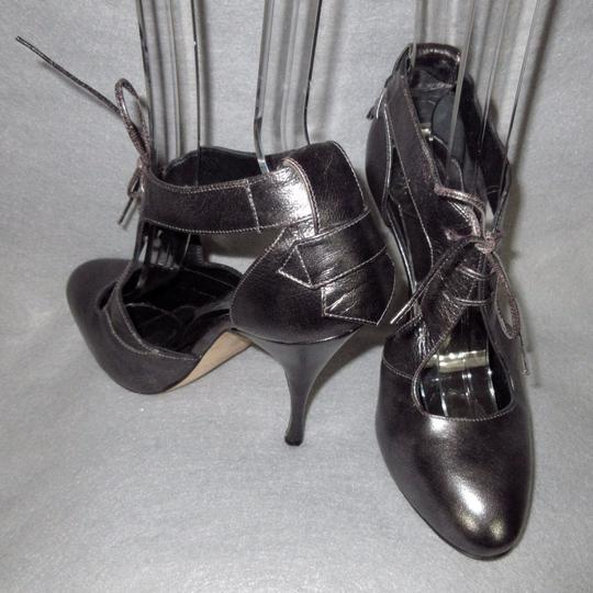 Brian Atwood Gray Pumps Image 3