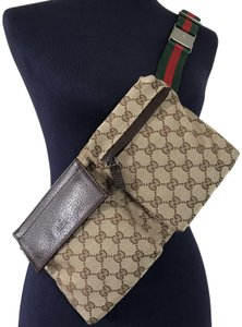 88f44c00 Gucci Monogram Cross Body Bag