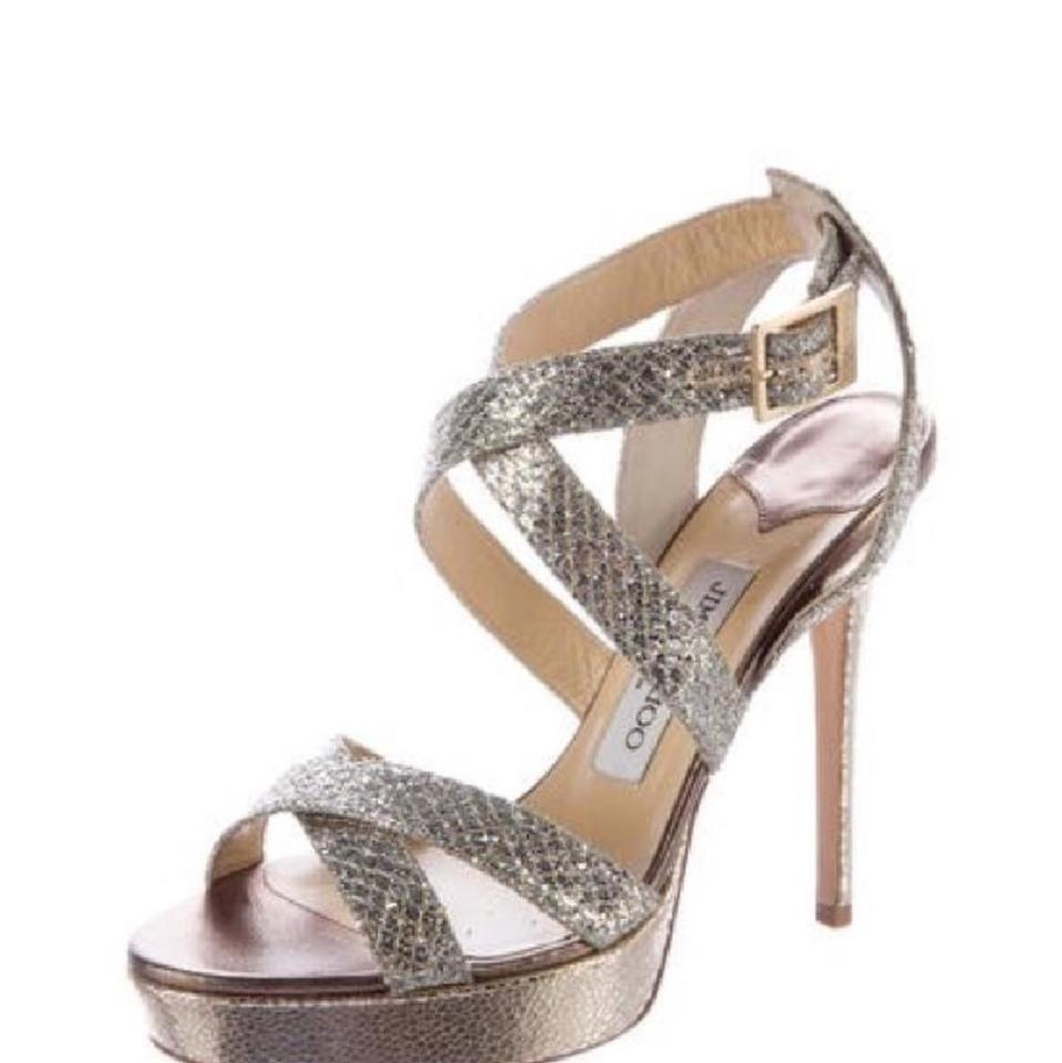 8bd61047c2a Jimmy Choo Champagne Vamp Formal Shoes Size EU 38 (Approx. US 8 ...