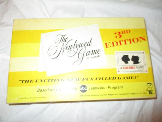 The Newlywed game vintage 3rd edition Image 1