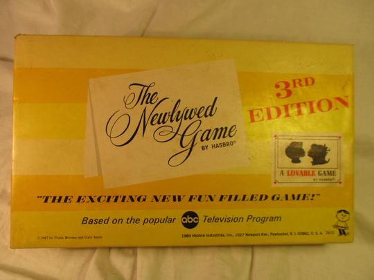 The Newlywed game vintage 3rd edition Image 2