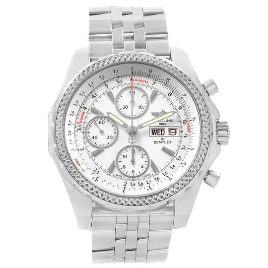 Breitling Breitling Bentley Motors GT White Dial Mens Watch A13362 Box Papers Image 1