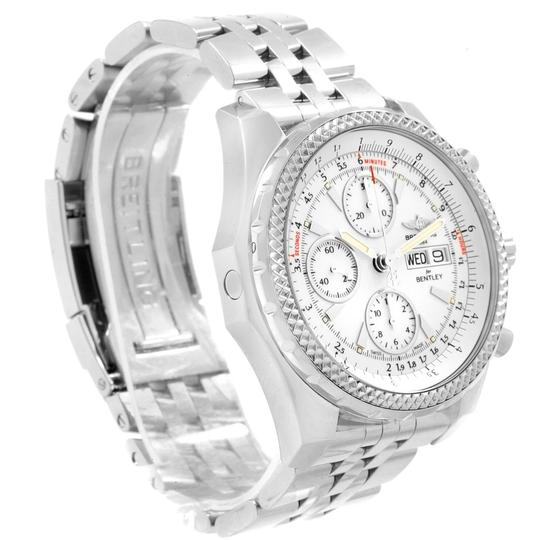 Breitling Breitling Bentley Motors GT White Dial Mens Watch A13362 Box Papers Image 2