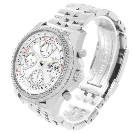 Breitling Breitling Bentley Motors GT White Dial Mens Watch A13362 Box Papers Image 3