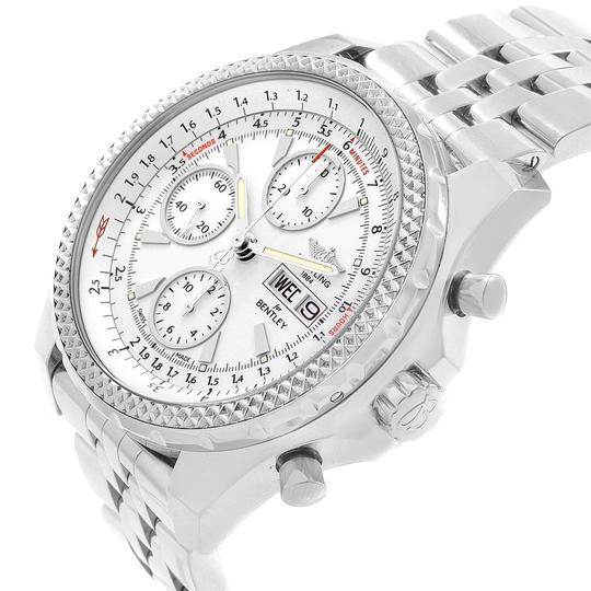 Breitling Breitling Bentley Motors GT White Dial Mens Watch A13362 Box Papers Image 4